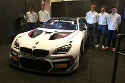 Die Fahrer von ROAL Motorsport