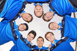 Chistian Vietoris, Esteban Ocon, Robert Wickens, Lucas Auer, Paul die Resta, Maximilian Götz, Gary Paffett, Daniel Juncadella, Mercedes-AMG DTM Team HWA AG