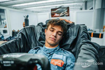 Montaggio sedile McLaren