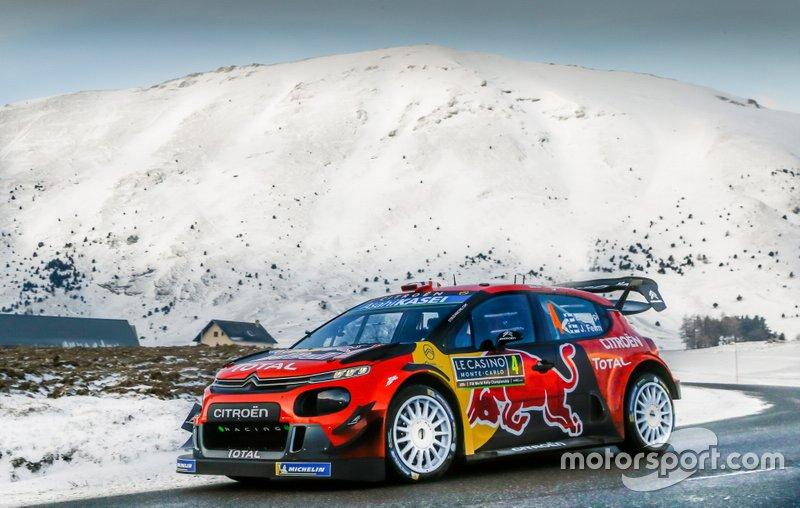 Эсапекка Лаппи и Янне Ферм, Citroen C3 WRC
