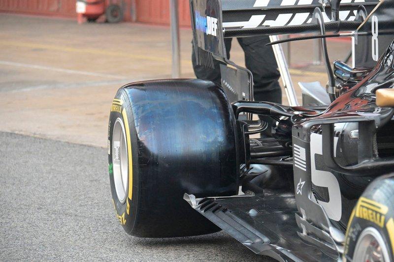 Detalle Haas F1 Team VF-19