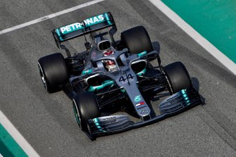Lewis Hamilton, Mercedes AMG F1 W10.