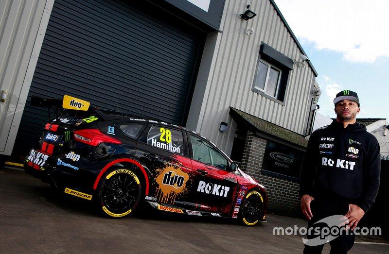 Nic Hamilton, Motorbase Performance Ford Focus RS