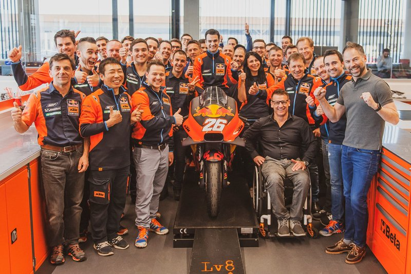 Тест-пилот Red Bull KTM Factory Racing Дани Педроса