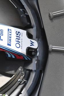 Носовой обтекатель и переднее антикрыло Williams FW41