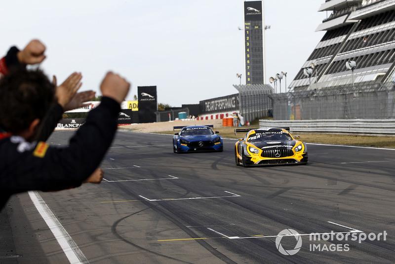 Winners #88 Akka ASP Team Mercedes-AMG GT3: Raffaele Marciello, Michael Meadows