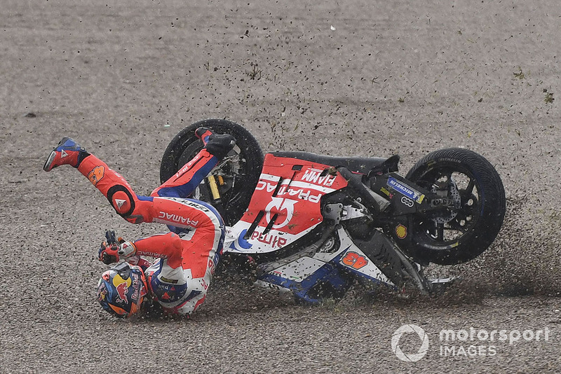 Jack Miller, Pramac Racing crash