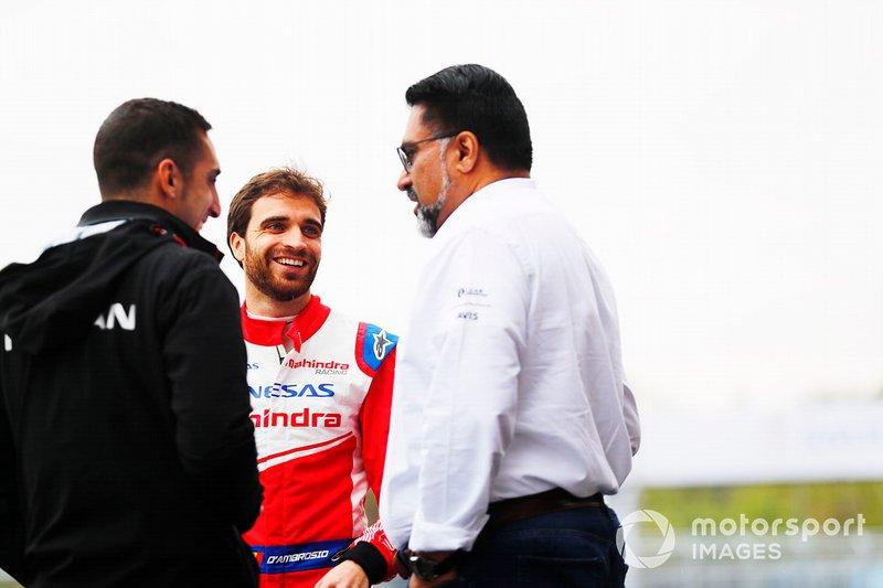Jérome d'Ambrosio, Mahindra Racing, Sébastien Buemi, Nissan e.Dams, Dilbagh Gill, CEO, Team Principal, Mahindra Racing