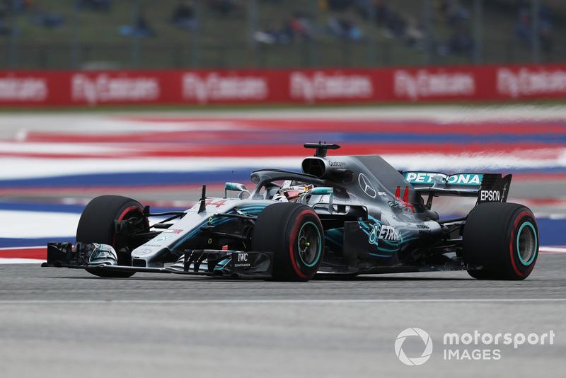 1. Льюіс Хемілтон, Mercedes AMG F1 W09, 1:32.237