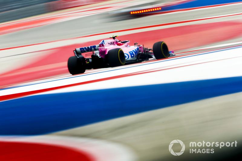 8. Esteban Ocon, Racing Point Force India VJM11