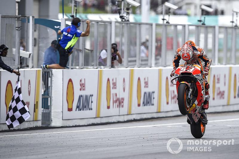 Marc Marquez, Repsol Honda Team, gana
