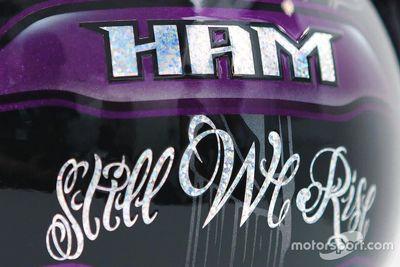 Helmdesign: Lewis Hamilton