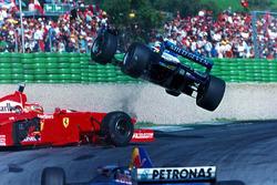 Jean Alesi-Eddie Irvine kazası