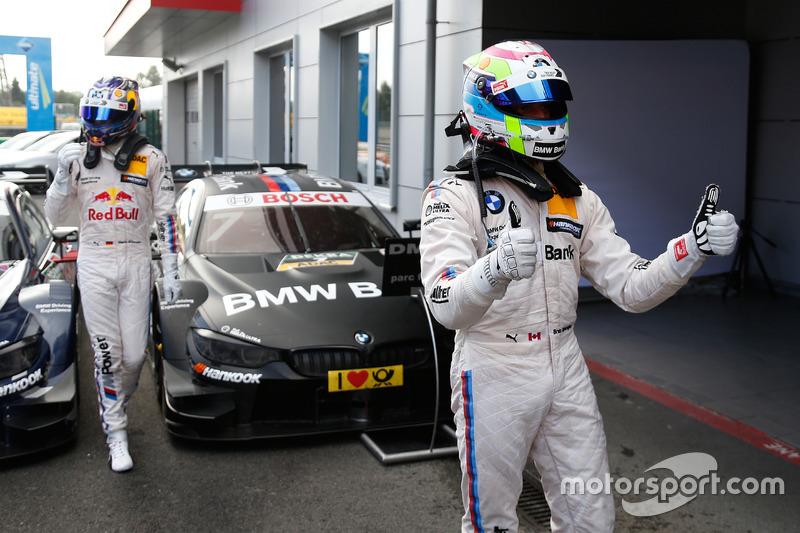 Al terzo posto Bruno Spengler, BMW Team MTEK, BMW M4 DTM