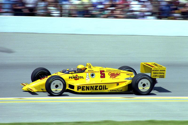 Le vainqueur Rick Mears, Penske/Chevrolet
