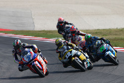 Lorenzo Baldassarri, Forward Racing; Thomas Lüthi, Interwetten; Franco Morbidelli, Marc VDS