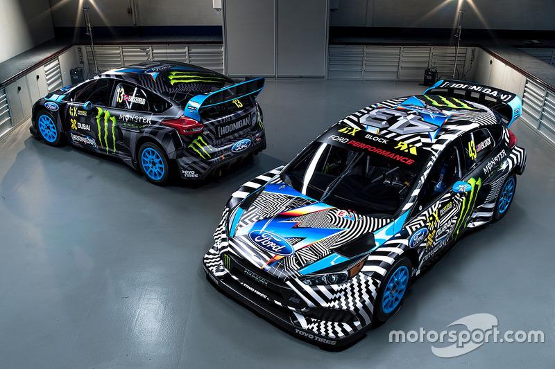 Andreas Bakkerud, Ken Block, Hoonigan Racing Division Ford decoración