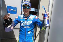Tweede kwalificatietijd voor Maverick Viñales, Team Suzuki MotoGP
