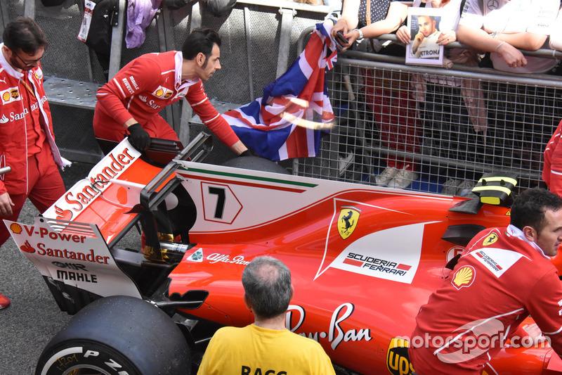 Détails de la Ferrari SF70H