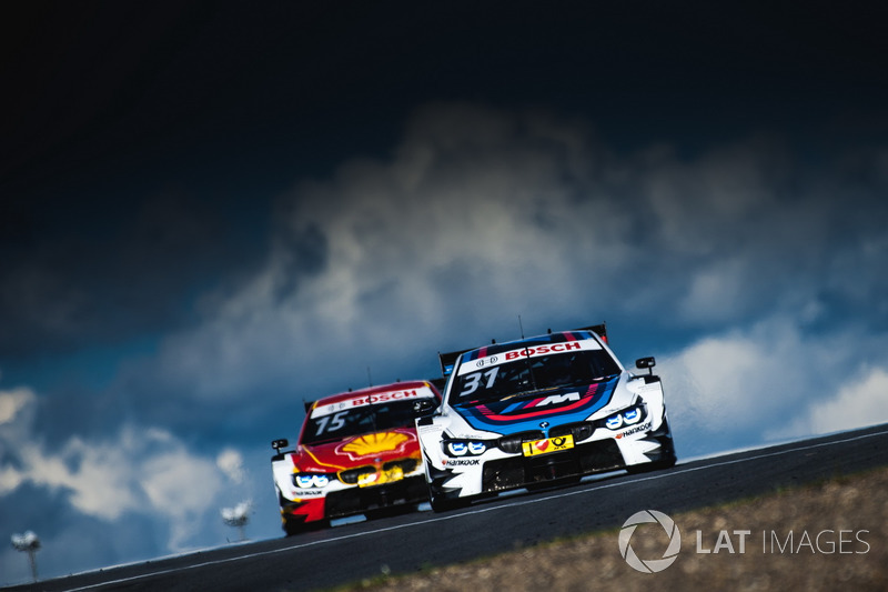 2. Tom Blomqvist, BMW Team RBM, BMW M4 DTM