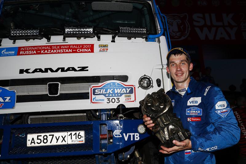 1. Truck-Wertung: Dmitry Sotnikov, Team Kamaz Master