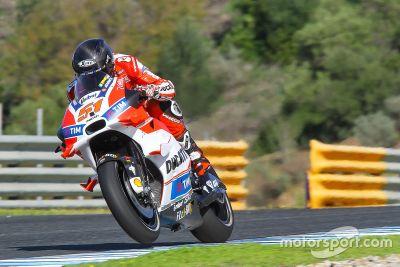 Teste de Jerez em novembro