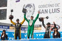 Segundo, Facundo Ardusso, Renault Sport Torino, race winner Agustin Canapino, Jet Racing Chevrolet, tercero Gabriel Ponce de Leon, Ponce de Leon Competicion Ford