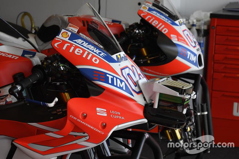 Ducati Team new fairings