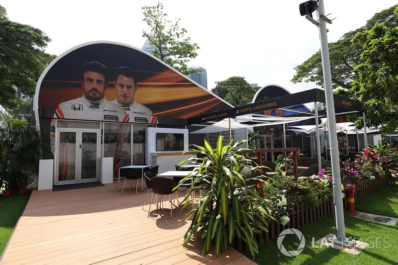 McLaren team building