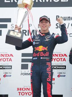 Race winner Pierre Gasly, Team Mugen