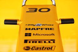 Renault Sport F1 Team RS17; Schriftzug #BillyWhizz