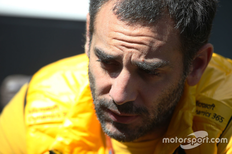 Cyril Abiteboul, MD of Renault Sport F1 Team