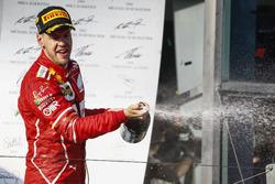 Победитель: Себастьян Феттель, Ferrari