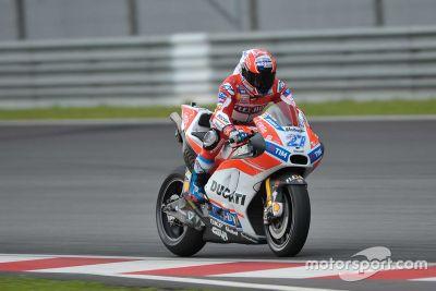 Тесты Ducati на Сепанге