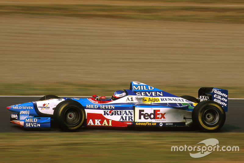 #7: Jean Alesi, Benetton, B197