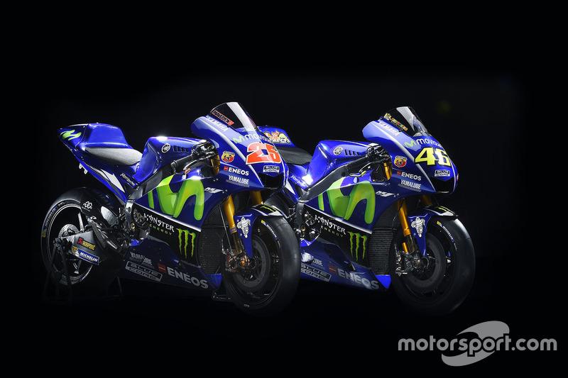 Motor van Valentino Rossi, Yamaha Factory Racing, Maverick Viñales, Yamaha Factory Racing
