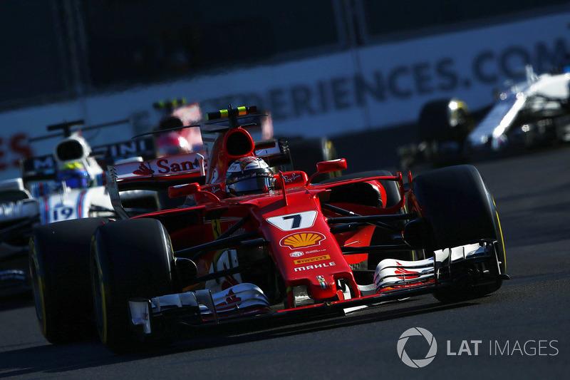 Verlierer: Kimi Räikkönen (Ferrari)
