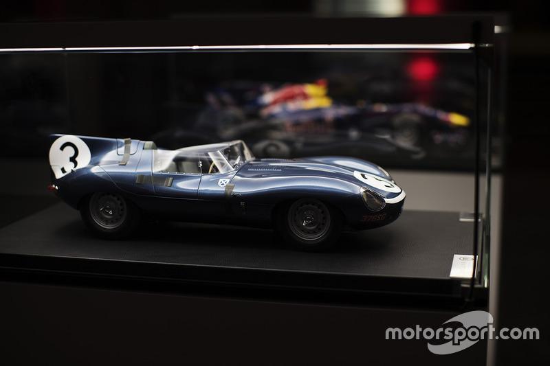 Modelo de un Jaguar clásico