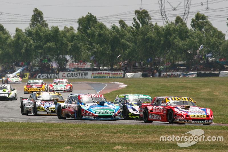 Juan Manuel Silva, Catalan Magni Motorsport Ford, Matias Jalaf, Car Racing Torino, Mauricio Lambiris, Coiro Dole Racing Torino