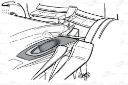 Ferrari F399 exhaust