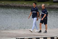 Pascal Wehrlein, Sauber und Josef Leberer, Sauber F1 Physio