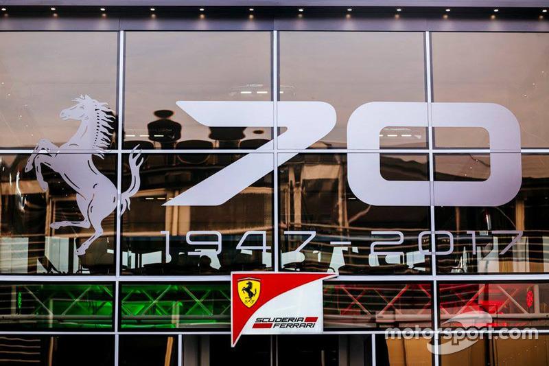 Ferrari motorhome for the 70th anniversary