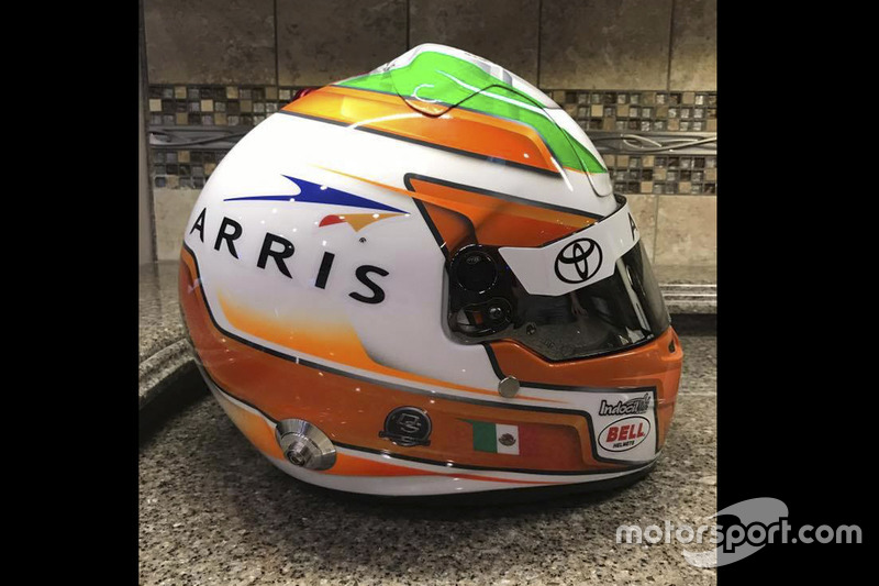 Casco de Daniel Suárez, Joe Gibbs Racing