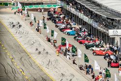 Gruppe 5A, Sportswagen und GT-Autos von 1947-1955, machen sich startbereit