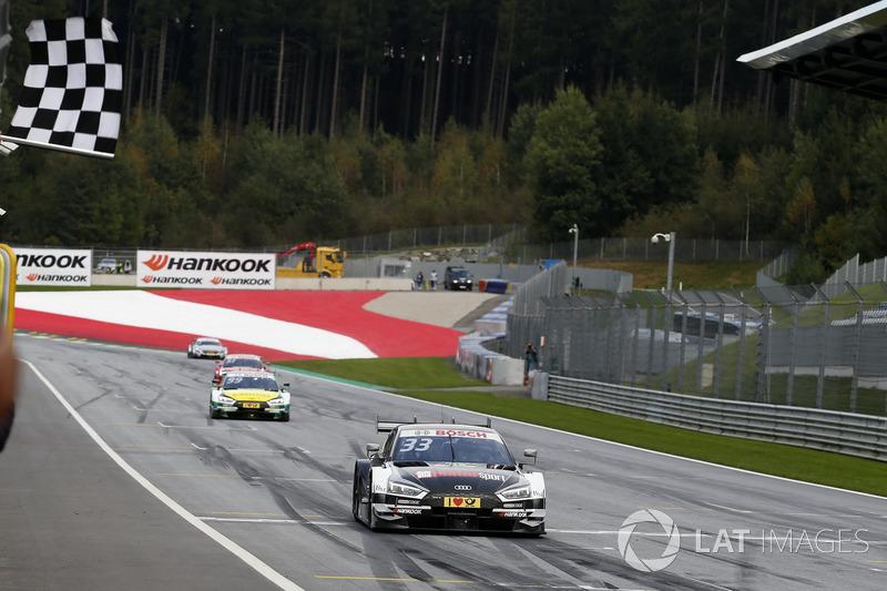 Картатий прапор для Рене Раста, Audi Sport Team Rosberg, Audi RS 5 DTM