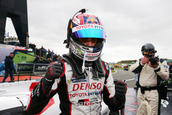 Sébastien Buemi, Toyota Gazoo Racing in parc ferme