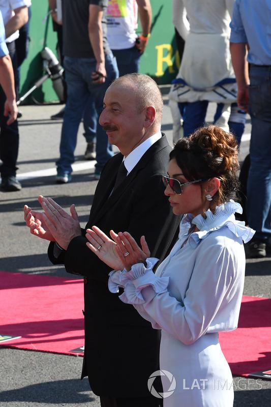 Illham Aliyev, Staatspräsident Aserbaidschan