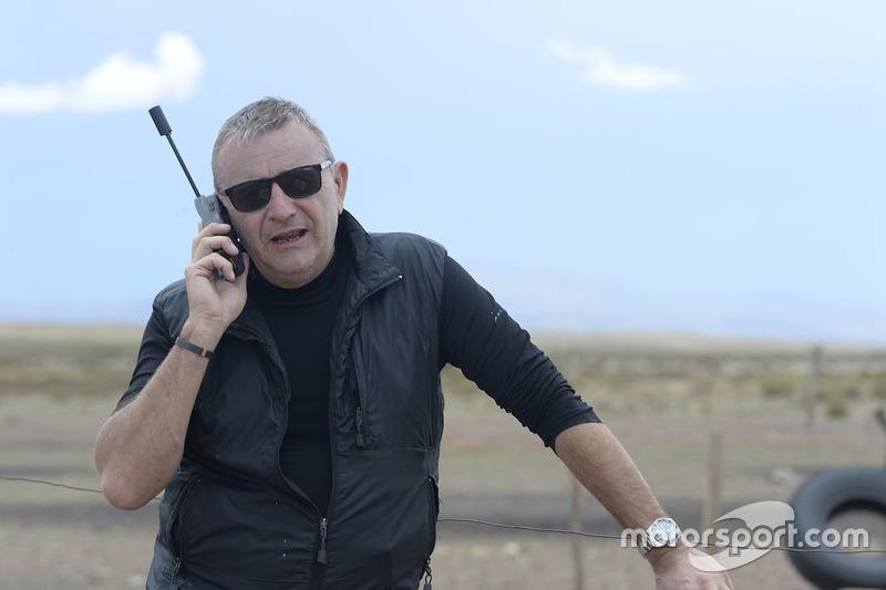 Etienne Lavigne, director de la carrera de Dakar