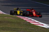 Себастьян Феттель, Ferrari SF71H, Ніко Хюлькенберг, Renault Sport F1 Team R.S. 18