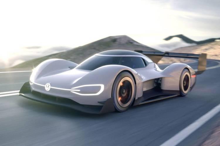 Autó Vasárnap leleplezi elektromos versenyautóját a VW: I.D. R Pikes Peak